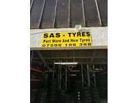 PART WORN TYRES CHEAPEST IN GLASGOW PHONE IN THEY HAVE LIKE NEW TREAD ON THEM