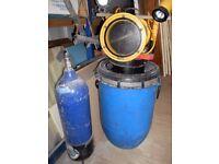 Old Scuba Diving Equipment