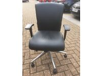 High End Office Chairs with Adjustable Back/Height and Arms. Almost New. Bargain