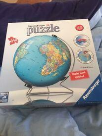Round world puzzle