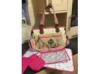 Pink Lining Twins Bag Sam The Dalmation Changing Bag 🐶💓👶🏻👜