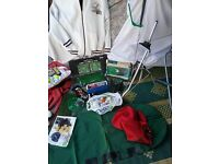 Golf equipment for sale as one lot lots of stuff £35
