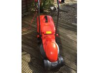 Flymo Rollermo RE320 Lawnmower lawn mower excellent condition