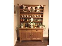 Genuine antique pine dresser