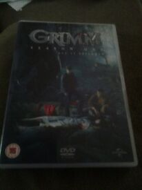 2 x GRIMM dvd boxsets for sale.