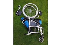 EXCEL G Lite PRO Wheelchair excellent condition £125:00. Very lite, folds or easy disassembled.