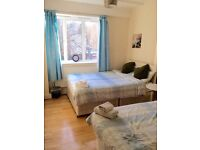Lovely Double/Twin Room available now in Maida Vale/Kilburn