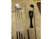 Golf set - Men's half set RH - Inesis Exia with original box