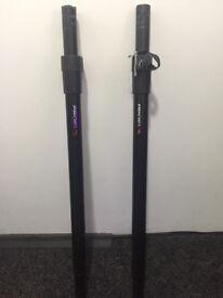Proel Adjustable Speaker Poles