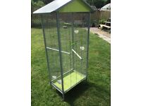 Tall free standing Bird Cage