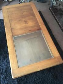 Solid wood coffee table from Marks & Spencer's Home Depot