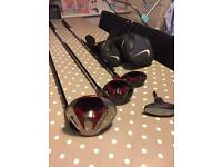 Nike covert driver, 3 wood and rescue