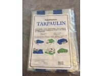 Tarpaulin polyethylene light weight 4' x 6'