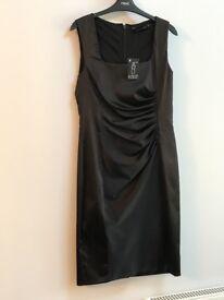 Ladies Black Dress, New - Next