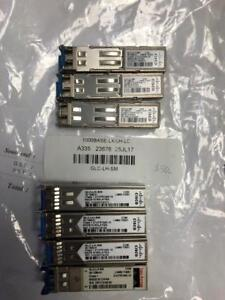 Cisco SFP (mini-GBIC) transceiver module -  GLC-LH-SM and GLC-GE-100FX