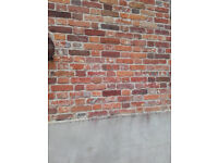 Red reclaimed bricks for sale