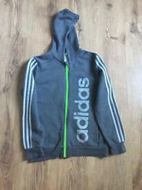 Adidas boys zip top
