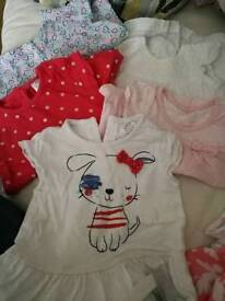 Huge bundle of 0-3 months baby girl clothes