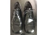 Men's black Aldo formal shoes size 44