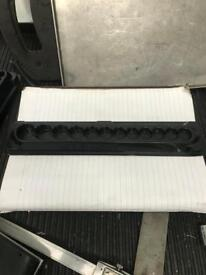 Snap on 1/4 shallow magnetic tray