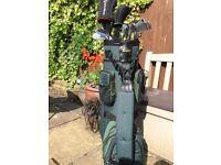 Golf Bag / full set irons & woods