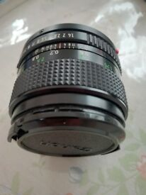 Lens 50mm for canon camera manual