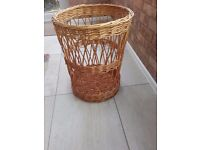 Sturdy Log baskets, could also be used for toys, magazines etc