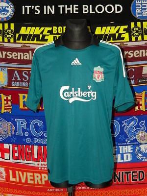 5c10d9458 4 5 Liverpool adults XL 2008 third football shirt jersey trikot soccer