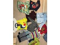 Bundle of boys clothes age 3-4 yrs old