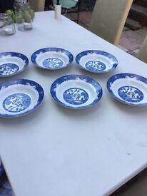 Royal Norfolk ceral bowls
