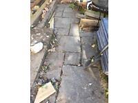 Used sandstone 8-9m2 possible morw