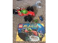 LEGO Atlantis; 8059 underwater machine