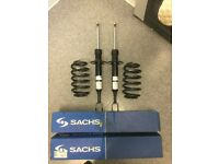 Audi A4 b6 Sports suspension front shocks springs brand new boxed