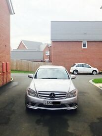 2008 Mercedes-Benz C Class C220CDI DIESEL + NEW MOT + FULL SERVICE HISTORY + SAVE £££s FROM DEALER