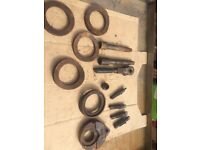 SOME SPARE PARTS FOR A DRILL AND TAP MACHINE - COLLECT DERBY