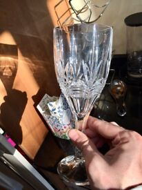 Galway Crystal Wine Glass's x4