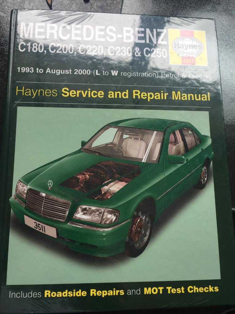 Mercedes Haynes workshop manual