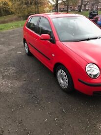 2005 VW POLO 1.4 FSI-FULL SERVICE HISTORY- FULL MOT- OUTSTANDING CONDITION ONLY: £1500 quick sale