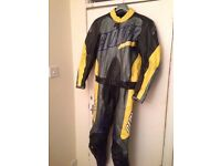 Clover Motorbike Leathers 2 Piece (See Description)