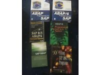 6 X SELECTION OF SAP BOOKS COLLECTION ONLY IG4 QUICK SALE REQUIRED