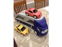 Large toy car transporter