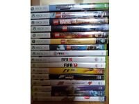 XBOX 360 S bundle - Black console 250gb, Kinect, 4 controllers, 16 games