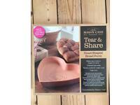 Mason Cash Heart Shaped Bread Form baking