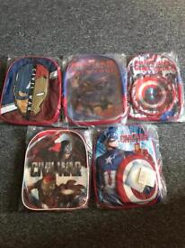 New marvel bags