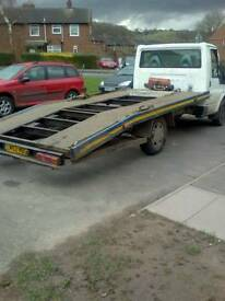 Cheap roadside recovery and car transporter