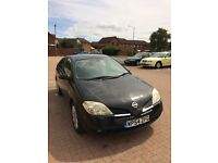 NISSAN PRIMERA 2.2 DCI REVERSE CAMERA,SAT NAV,LEATHER INTERIOR