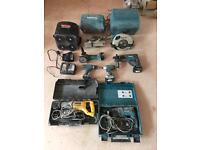 Makita / Dewalt power tools
