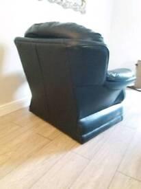 Leeks leather chairs