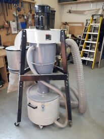 Axminster Trade Series T-2000CK Cyclone Extractor, ideal for small workshop, wood turning etc.