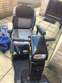 Mobility Scooter Black/Grey